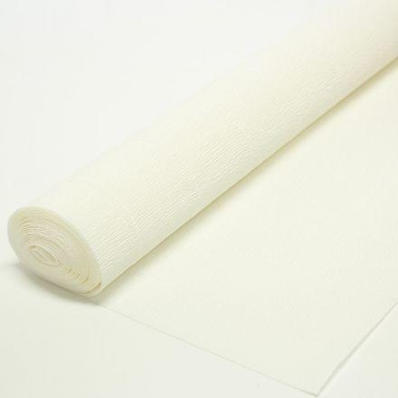 Бумага гофрированная простая 900 белая, 140гр, 50х250 см, Cartotecnica Rossi (Италия)