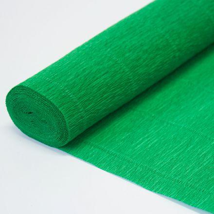 Бумага гофрированная простая 563 зеленая, 180гр, 50х250 см, Cartotecnica Rossi