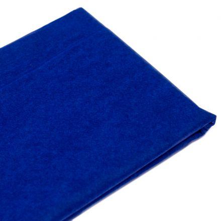 Бумага тишью  76х50см,10 лист. темно-синяя