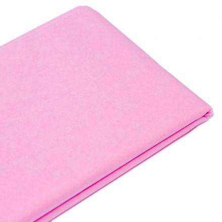 Бумага тишью  76х50см,10 лист. , розовый