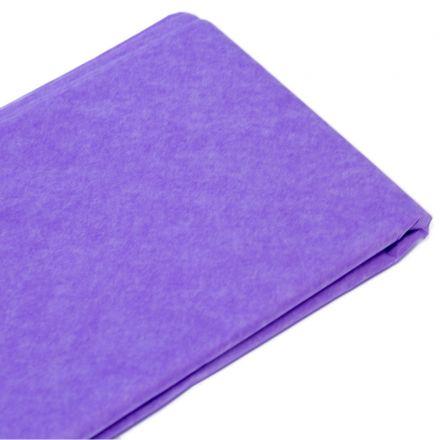Бумага тишью  76х50см, 10 лист., светло-сиреневая