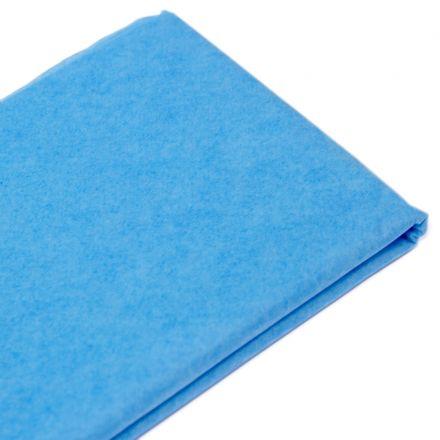 Бумага тишью  76х50см,10 лист. бирюзовый