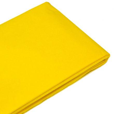 Бумага тишью  76х50см,10 лист. ярко-желтая