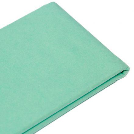 Бумага тишью 76х50см,10 листов, мятная