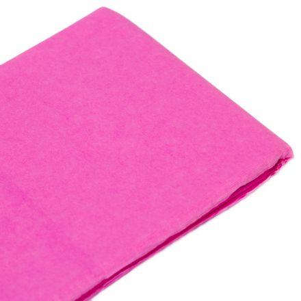Бумага тишью ярко-розовая (76х50 см, 10 листов)