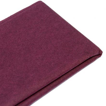 Бумага тишью бордовая (76х50 см, 10 листов)