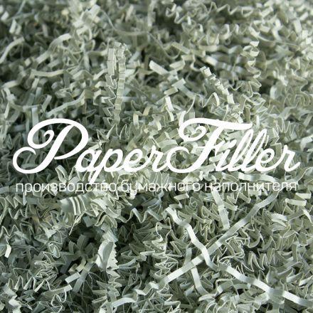 Бумажный наполнитель. Серый, 2 мм, 100 гр