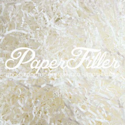 Бумажный наполнитель. Белый, 2 мм, 100 гр