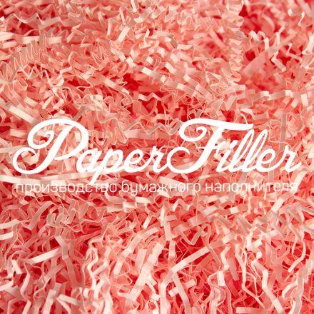 Бумажный наполнитель. Розовый фламинго, 2 мм, 500 гр