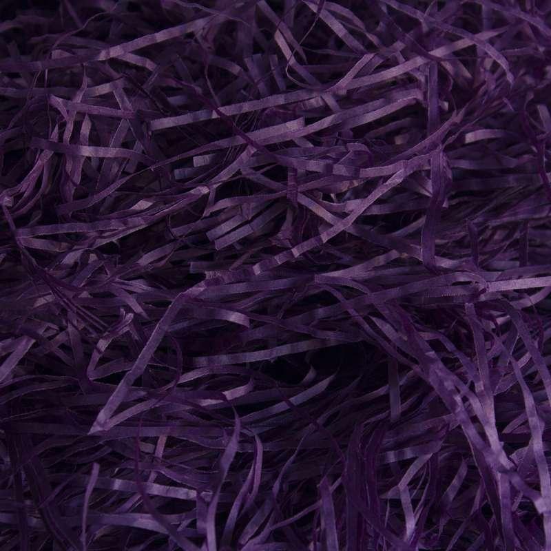 Бумажный наполнитель. Фиолетовый, 2 мм, 100 гр