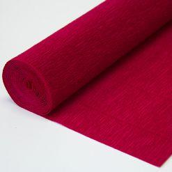Бумага гофрированная простая 586 вишневая, 180гр, 50х250 см, Cartotecnica Rossi