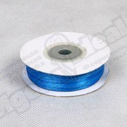 Лента атласная  3мм х 50м К синяя