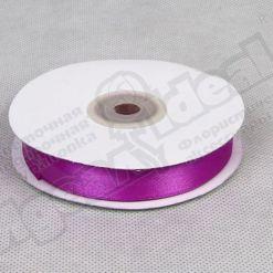 Лента атласная 25мм х 30м К фиолетовая