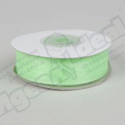 Лента шифон 1,8см х 22м зеленая