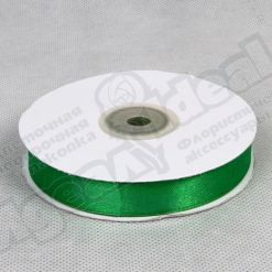 Лента атласная 20мм х 30м К, зеленая