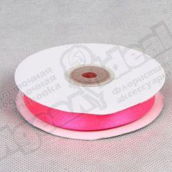 Лента атласная 20мм х 30м К, ярко-розовая