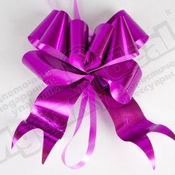 Бант-бабочка металл 50, 10шт., малиновый