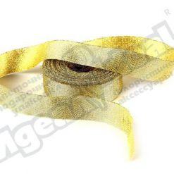 Лента парча 25мм х 25м, золото