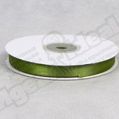 Лента атласная 10мм х 30м К, оливковая