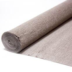 Бумага гофрированная простая 604 кварцевая, 180 гр., 50х250 см, Cartotecnica Rossi (Италия)