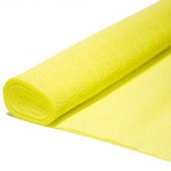 Бумага гофрированная простая 574 желтый, 180 гр., 50х250 см, Cartotecnica Rossi