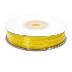 Лента атласная  3мм х 50м К желтая