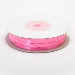 Лента атласная  3мм х 50м К розовая