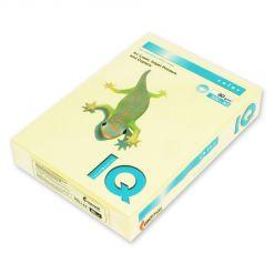Бумага цветная IQ Color (А4, 80 г/кв.м, YE23-желтый, 500 листов)
