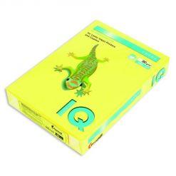Бумага цветная IQ Color (А4, 80 г/кв.м, CY39-канареечно-желтый, 500 листов)