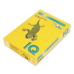 Бумага цветная IQ Color (А4, 80 г/кв.м, SY40-солнечно-желтый, 500 листов)