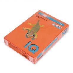 Бумага цветная IQ Color (А4, 80 г/кв.м, OR43-оранжевый, 500 листов)