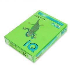 Бумага цветная IQ Color (А4, 80 г/кв.м, MA42-ярко-зеленый, 500 листов)