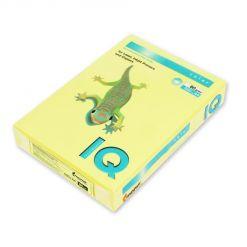 Бумага цветная IQ Color (А4, 80 г/кв.м, ZG34-лимонно-желтый, 500 листов)