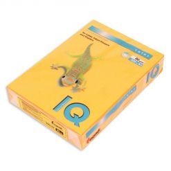 Бумага цветная IQ Color (А4, 80 г/кв.м, NEOOR-оранжевый неон, 500 листов)