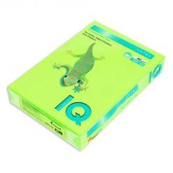 Бумага цветная IQ Color (А4, 80 г/кв.м, NEOGN-зеленый неон, 500 листов)