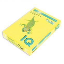 Бумага цветная IQ Color (А4, 80 г/кв.м, NEOGB-желтый неон, 500 листов)