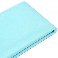 Бумага тишью  76х50см,10 лист. голубая