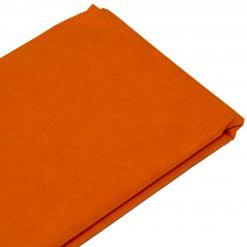 Бумага тишью  76х50см,10 лист. оранжевая