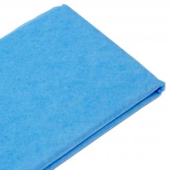 Бумага тишью  76х50см,10 лист. бирюзовая