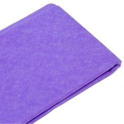 Бумага тишью Светло-сиреневая (76х50 см, 100 листов)