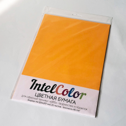 Бумага цветная IQ Color (А4, 80 г/кв.м, AG10 старое золото, 20 листов)