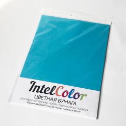 Бумага цветная IQ Color (А4, 80 г/кв.м, AB48 светло-синий, 20 листов)