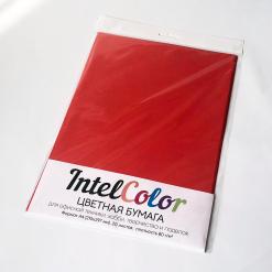 Бумага цветная IQ Color (А4, 80 г/кв.м, CO44 кораллово-красный, 20 листов)
