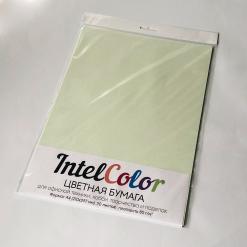 Бумага цветная IQ Color (А4, 80 г/кв.м, GN27 светло-зеленый, 20 листов)