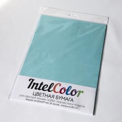 Бумага цветная IQ Color (А4, 80 г/кв.м, MB30 голубой, 20 листов)