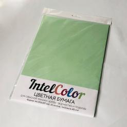 Бумага цветная IQ Color (А4, 80 г/кв.м, MG28 зеленый, 20 листов)
