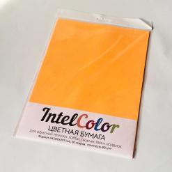 Бумага цветная IQ Color (А4, 80 г/кв.м, NEOOR оранжевый неон, 20 листов)