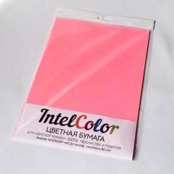 Бумага цветная IQ Color (А4, 80 г/кв.м, NEOPI розовый неон, 20 листов)