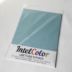 Бумага цветная IQ Color (А4, 80 г/кв.м, OBL70 голубой лед, 20 листов)