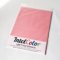 Бумага цветная IQ Color (А4, 80 г/кв.м, PI25 розовый, 20 листов)